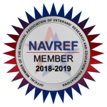 2018 NAVREF Membership Badge