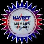2021-2022 NAVREF Member Website Badge